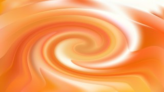 Abstract Orange and White Twirling Background Texture