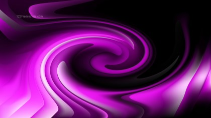Abstract Purple and Black Twirling Vortex Background Image