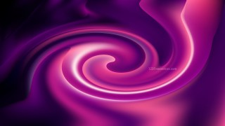 Abstract Purple and Black Whirl Background Image