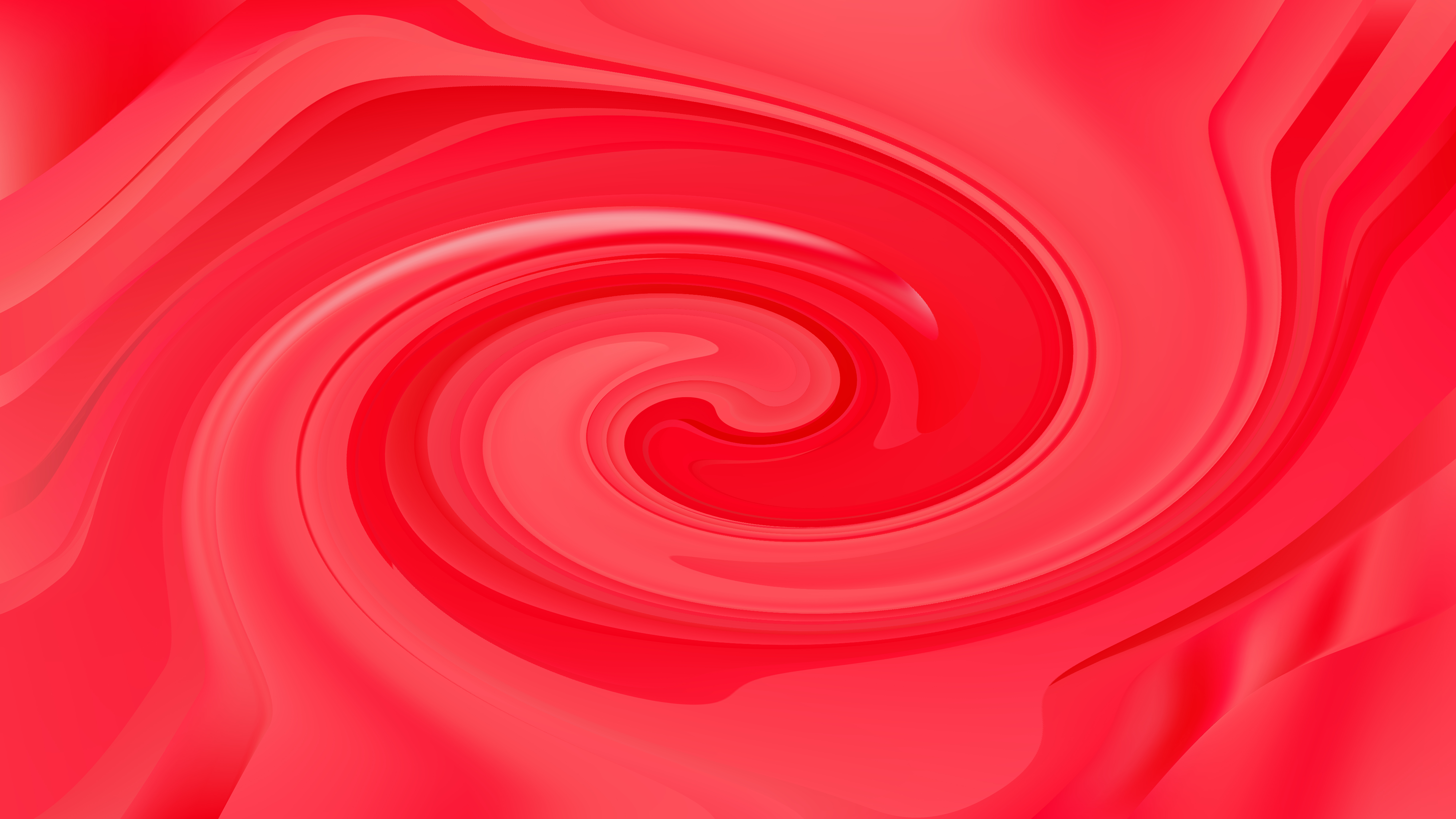 Red Whirl Background