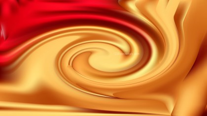 Abstract Red and Gold Whirl Background Image