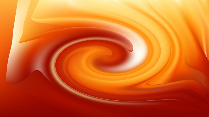 Abstract Red and Orange Whirl Background Texture