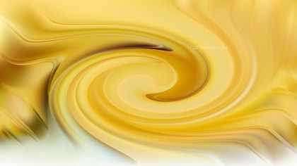White and Gold Whirl Background Image