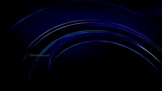 Abstract Black Glow Lines Background