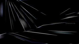 Abstract Black Glowing Lines Background