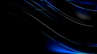 Glowing Abstract Lines Black Background