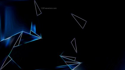 Black Glowing Abstract Lines Background