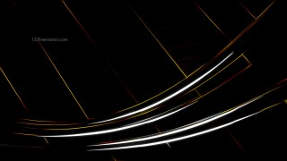 Black Glowing Lines Background