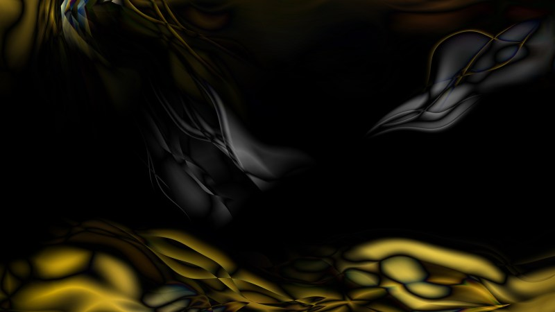 Black and Gold Abstract Texture Background