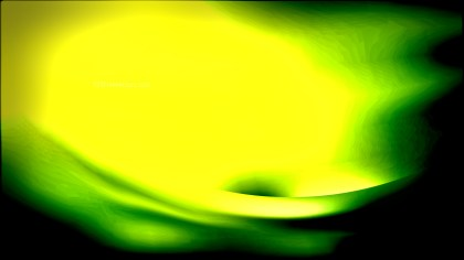 Abstract Black Green and Yellow Texture Background Design