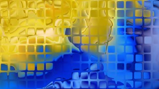 Abstract Blue and Gold Texture Background Image