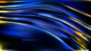 Blue and Gold Abstract Texture Background