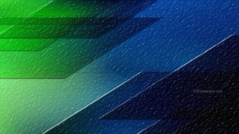 Blue and Green Abstract Texture Background Design