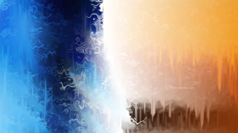 Abstract Blue and Orange Texture Background Image