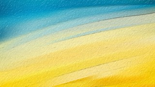 Abstract Blue and Yellow Texture Background Image