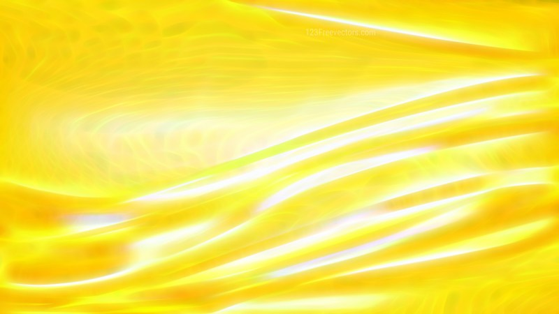 Abstract Bright Yellow Texture Background Design