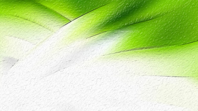 Abstract Green and White Texture Background