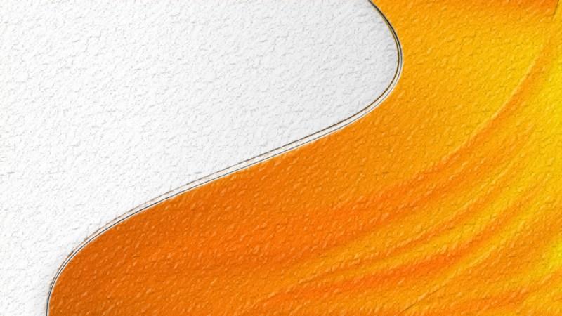 Orange Abstract Texture Background Design