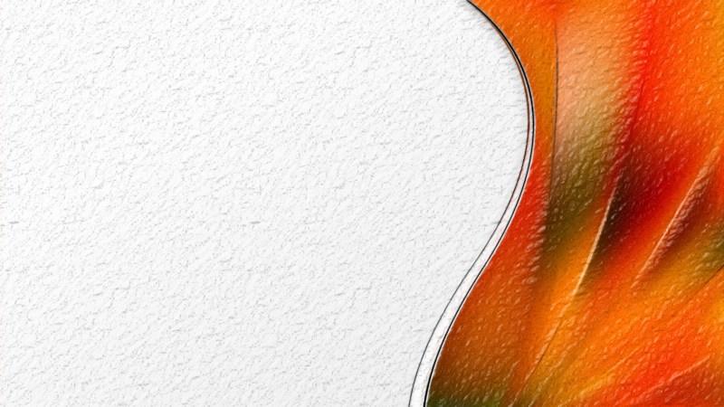 Abstract Orange Texture Background