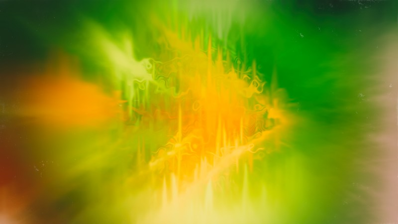 Abstract Orange and Green Texture Background