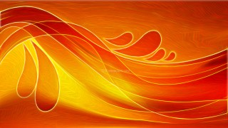 Abstract Red and Yellow Texture Background Design