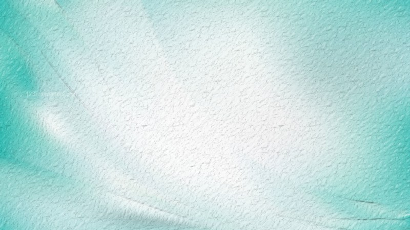 Turquoise and White Abstract Texture Background