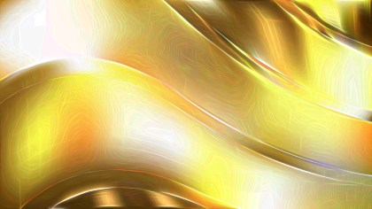 White and Gold Abstract Texture Background Image