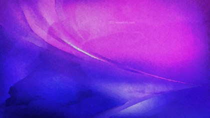 Blue and Purple Grunge Watercolor Texture Background