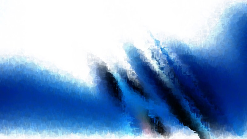 Blue and White Aquarelle Background