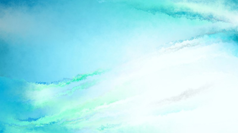 Blue and White Aquarelle Background Image