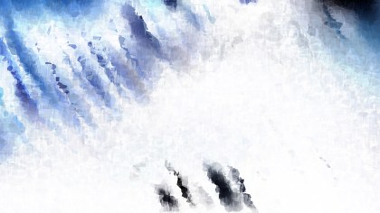 Blue and White Distressed Watercolour Background