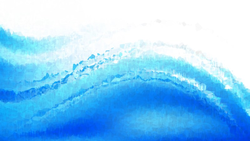 Blue and White Watercolour Background Image