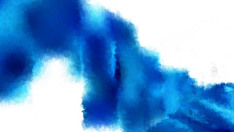 Blue and White Distressed Watercolor Background Image