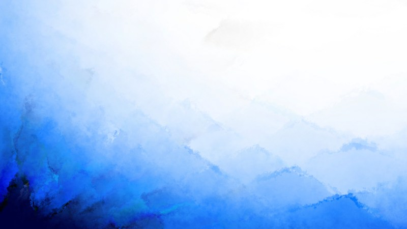 Blue and White Distressed Watercolour Background Image