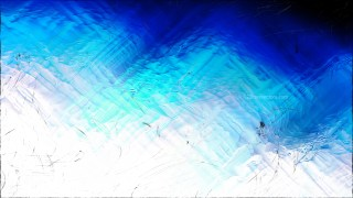 Abstract Blue Black and White Glass Effect Painting Background