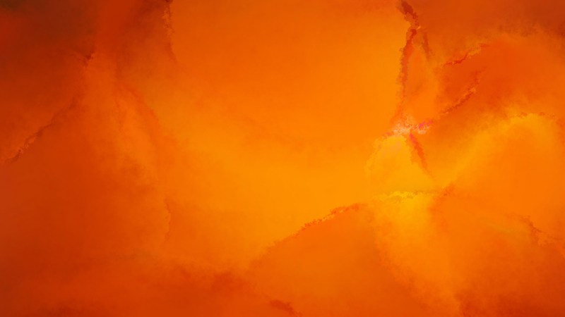 Bright Orange Watercolour Grunge Texture Background