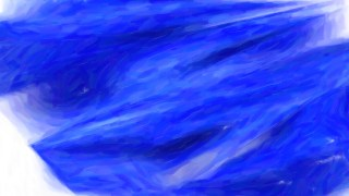 Abstract Cobalt Blue Painting Background