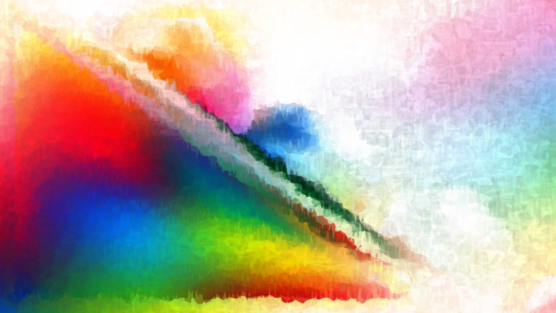 Colorful Distressed Watercolour Background