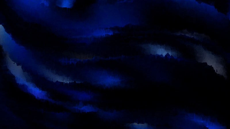 Cool Blue Grunge Watercolour Background Image