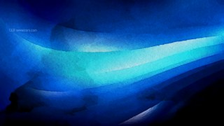 Cool Blue Aquarelle Background