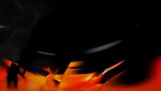 Cool Orange Grunge Watercolour Texture Background