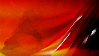 Cool Orange Distressed Watercolour Background