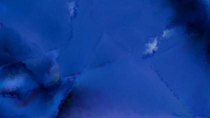 Dark Blue Grunge Watercolour Background