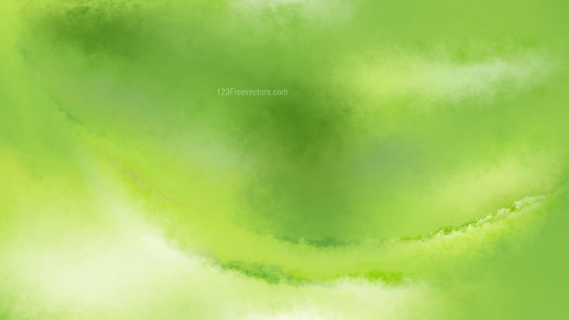 Green Distressed Watercolour Background Image