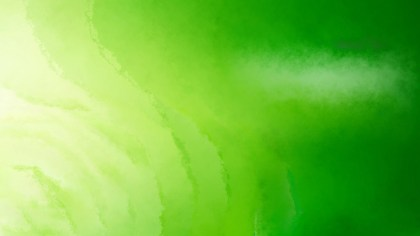 Green Watercolour Background Texture