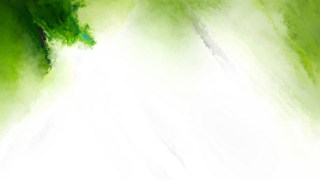 Green and White Distressed Watercolor Background