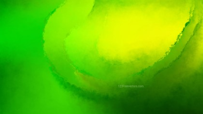 Green and Yellow Grunge Watercolour Texture