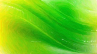 Abstract Green and Yellow Painting Texture Background