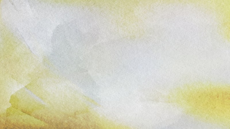 Grey and Yellow Grunge Watercolour Background Image