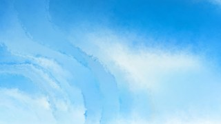 Light Blue Aquarelle Background